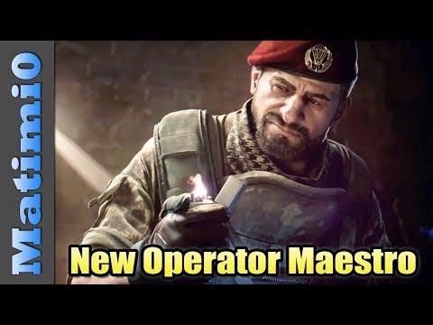 Xxx Mp4 New Operator Maestro Rainbow Six Siege DLC 3gp Sex