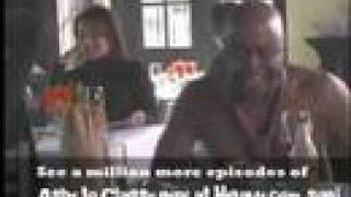 Chappelle's Show Ashy Larry eating at restaurant SHIRTLESS