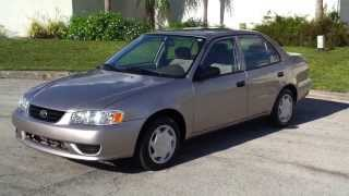 FOR SALE 2002 Toyota Corolla LOW MILES SOUTHEASTCARSALES.NET