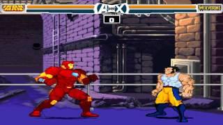 Avengers vs X-Men MUGEN 1080P HD Playthrough with IRONMAN PT. 1