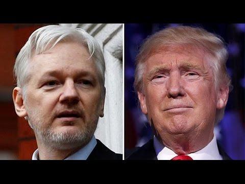 Trump Becomes President, Now Julian Assange