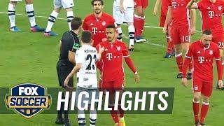 Monchengladbach vs. Bayern Munich | 2016-17 Bundesliga Highlights