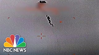 Pentagon Releases Footage Of U.S. Drone Shot Down By Iran | NBC News