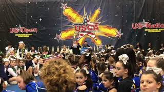 USCA Cheer Competition with Isabella and Louella - Wonder Katz - Broward Elite