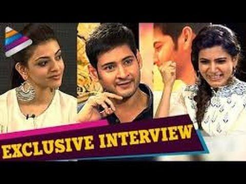 ETV Chats With Brahmotsavam Stars Mahesh, Kajal, Samntha
