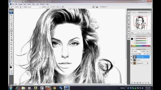 photoshop Tutorial - How to make sketch using image