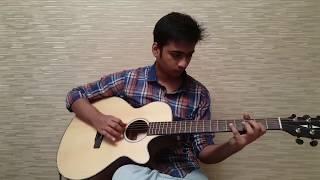 Neele Neele Ambar Par Guitar Instrumental with TABS - Kalakaar