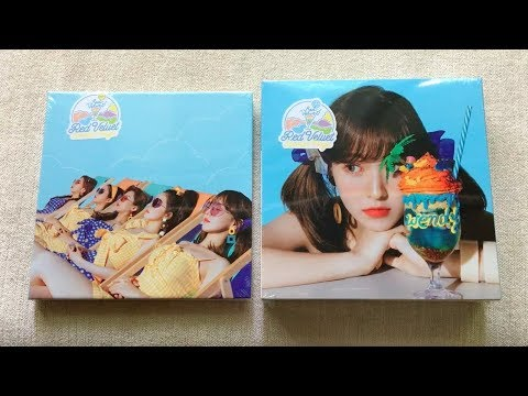 Download Lagu ♡Unboxing Red Velvet 레드벨벳 2nd Summer Mini Album Summer Magic 썸머매직 (Normal & Limited Edition)♡ MP3