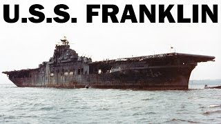 How Did U.S.S. Franklin Survive the Pacific Hell | World War 2 in Color | US Navy Documentary | 1945