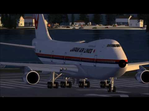 Vuelo 123 de Japan Air Reconstrucción