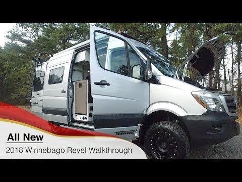 Walk Through 2018 Winnebago Revel 44E 4x4 4wd Short Mercedes Sprinter Off Road