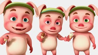 Three Little Pigs Went To a Fair | Oinkidz Nursery Rhymes | Videogyan 3d Rhymes | Baby Songs