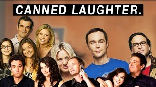 why sitcoms use laugh tracks.