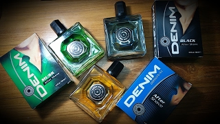 Denim Aftershaves (Brief Review)
