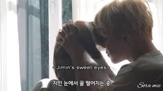 Jimin with calico cat||BTS MEMORIES 2017|