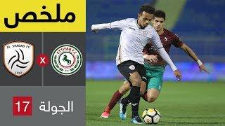 ملخص مباراة الشباب والاتفاق في الجولة 17 من الدوري السعودي للمحترفين