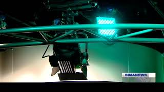 Iran Hamayeh co. made Lighting Control System & Luminaires by smart phone نورافكن كنترل تلفن هوشمند