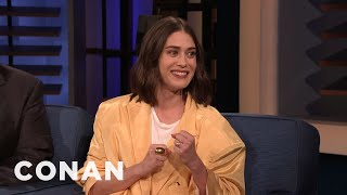 """Lizzy Caplan On Playing Annie Wilkes From """"Misery"""" - CONAN on TBS"""