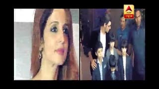 Hrithik Roshan supports Sussanne Khan by attending her event