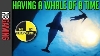 GTA 5  - Having a Whale of a Time - San Andreas Test Dummies Ep. 86 - GTA5 Mods and Funny Moments