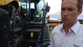 O MAIOR TRATOR DO MUNDO ESTEVE NO ESTANDE DA VALTRA NA AGRISHOW 2016
