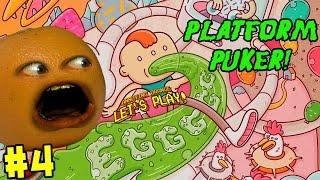 Annoying Orange Plays - EGGGGG: The Platform Puker #4 (Butt Bounces!)