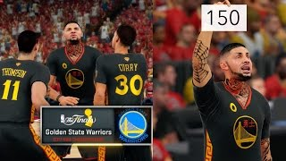 NBA 2K16 MyCAREER NBA FINALS Part 2 - 150 Points Challenge! 2K TROLLING AGAIN!!!!