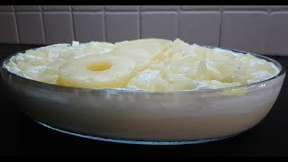 Pineapple Soufflé - A sweet taste you will always crave to eat
