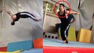 Tiger Shroff's Live Stunts From Baaghi 2