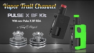 Pulse X Kit - Intro Video & Build & Wick For the Pulse X RDA