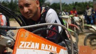 Zizan Razak Dan Achey Bocey Main Motorcross Pulak