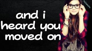 Tiffany Alvord-I KNew You Were Trouble Cover Lyrics