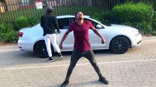 Dj Boonu - Abangani Bami Bhenga Dance moves (Vosho) by DangerFlex SA& Dan
