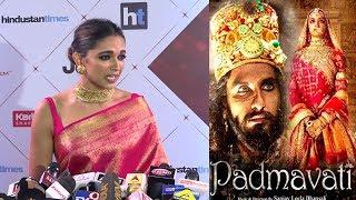 EMOTIONAL Deepika Padukone CRIES Publicly At Padmavati Release