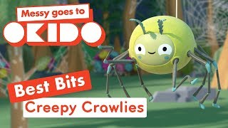 Messy Goes to Okido - Creepy Crawly Best Bits | Cartoons For Children | Cbeebies