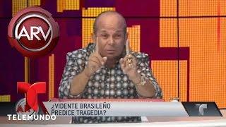 Vidente brasileño predijo accidente de futbolistas | Al Rojo Vivo | Telemundo