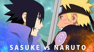 Naruto VS Sasuke - All Fighting Scenes - Bad Blood AMV