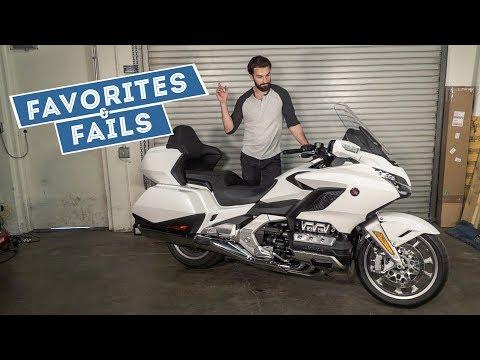 2018 Honda Gold Wing Tour – Favorites & Fails