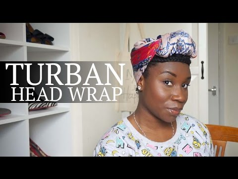 Head Wrap tutorial | Quick and Easy turban