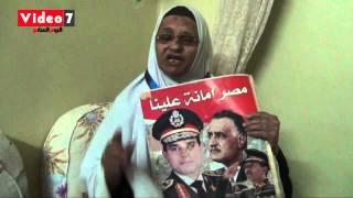"""بالفيديو..السيدة التى صفعها إخوانى أثناء محاكمة """"مرسى"""": """"مش هخاف من الإخوان"""""""