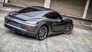 718 Cayman with XPEL Ultimate by Paint Protection Centre
