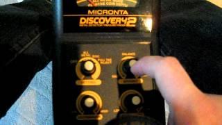 METAL DETECTOR INTRO BOUNTY HUNTER TRACKER 2