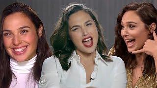 Gal Gadot Funny Moments 2017    Wonder Woman