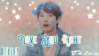 《 NCT Renjun 》Love you right ∣∣ Oneshot FF ∣∣