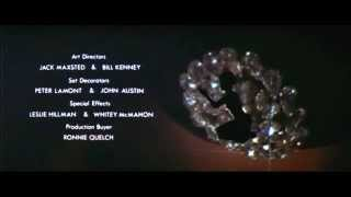 007 James Bond Diamonds Are Forever intro - Shirley Bassey