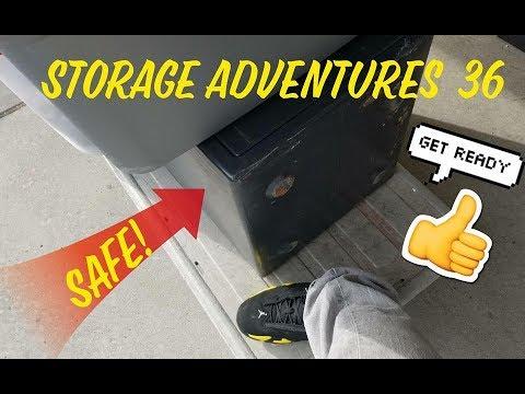 Storage Adventures 36 A SAFE IPODS IPHONES LAPTOPS NINTENDO 3DS JORDANS AND MORE