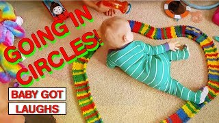 Funny Dizzy Babies | TRY NOT TO LAUGH CHALLENGE HILARIOUS BABY COMPILATION MAY 2018