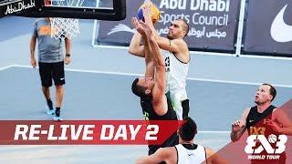 Re-Live - Day 2 - Abu Dhabi Final - 2016 FIBA 3x3 World Tour