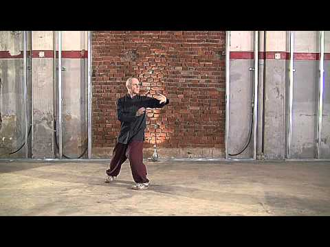 Tai Chi Fundamentals Form for beginners in front view Taiji by Uberto Bassi FISIC Milano asd