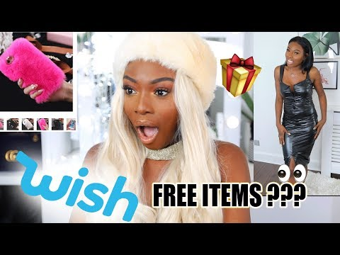 BUYING CHRISTMAS GOODIES FROM WISH GURRLLL I CANT BELIEVE WHAT I GOT FOR FREE